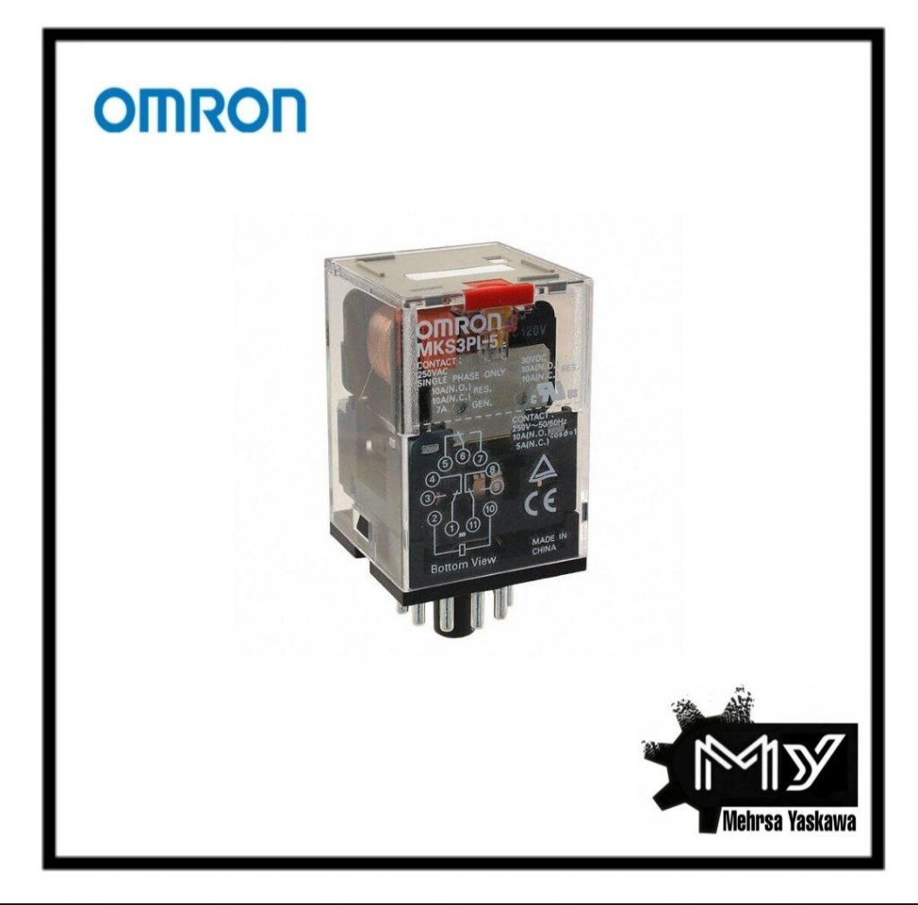رله امرن مدل MKS3PIN-5 230VAC BY OMZ